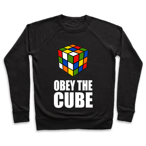 Obey the Cube Pullover