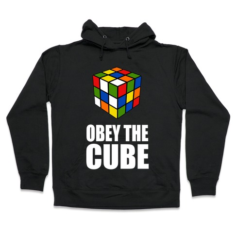 Obey the Cube Hooded Sweatshirt