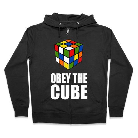 Obey the Cube Zip Hoodie
