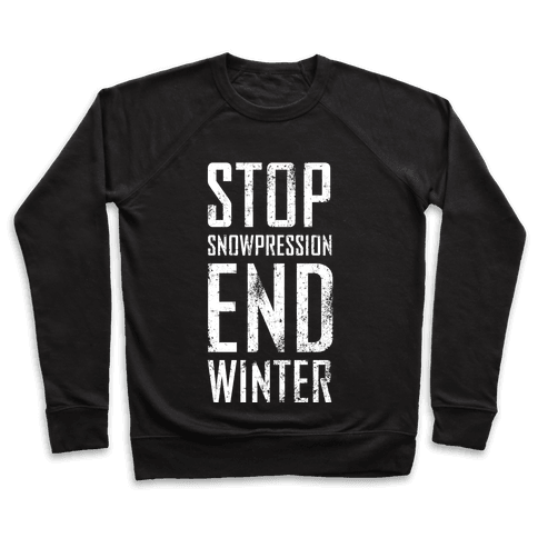 Stop Snowpression, End Winter!
