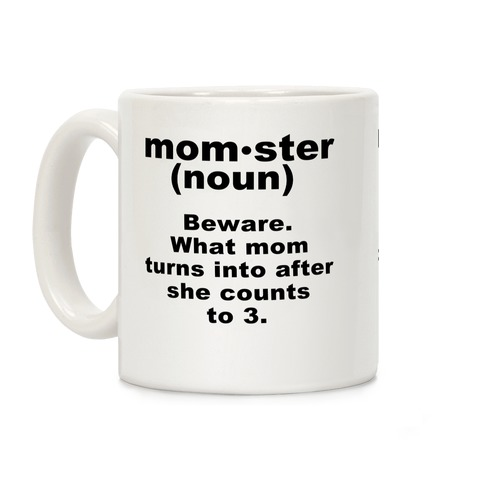 Momster Definition Coffee Mug