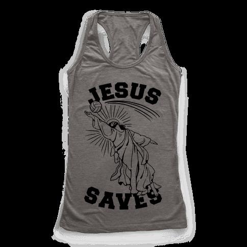 Jesus Saves (Volleyball)