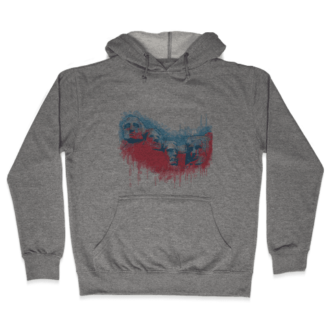 Watercolor Rushmore Hooded Sweatshirt