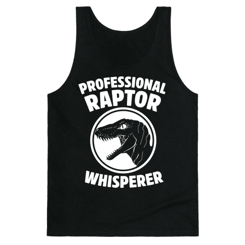 Professional Raptor Whisperer Tank Top