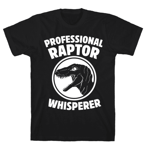 Professional Raptor Whisperer Mens T-Shirt