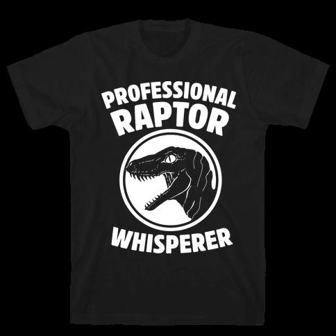 Professional Raptor Whisperer Mens T-Shirt