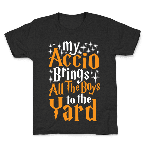 My Accio Brings all The Boys To The Yard Kids T-Shirt