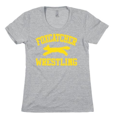 Foxcatcher Wrestling Womens T-Shirt