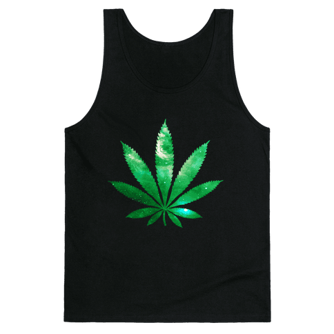 Galaxy Leaf Tank Top
