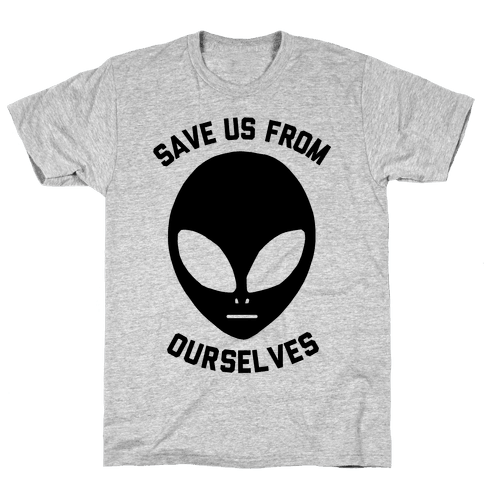 Save Us From Ourselves Mens T-Shirt