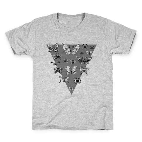 Moth Triangle Kids T-Shirt