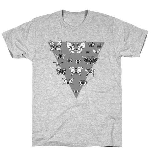 Moth Triangle T-Shirt