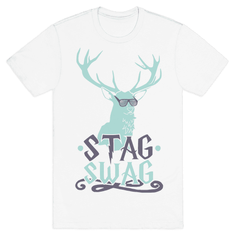 Stag Swag Mens T-Shirt