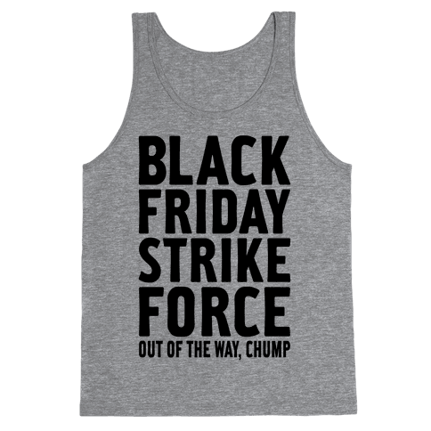 Black Friday Strike Force Tank Top