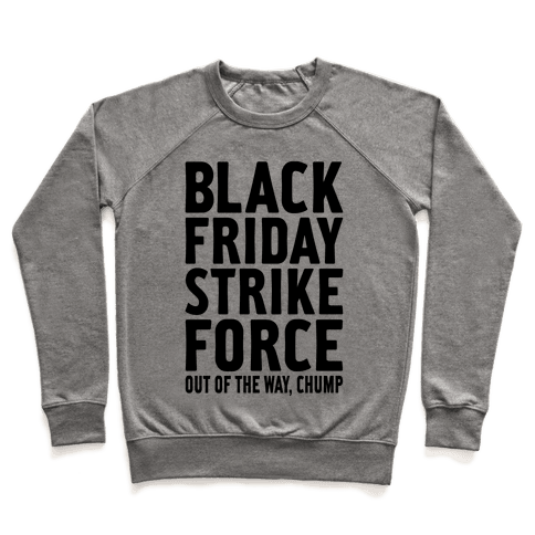 Black Friday Strike Force Pullover