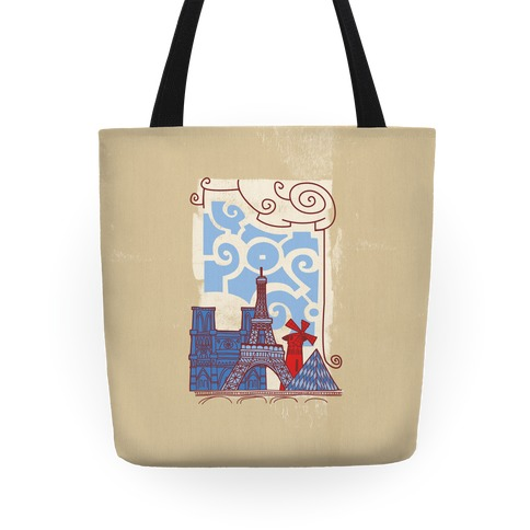The City of Love Tote