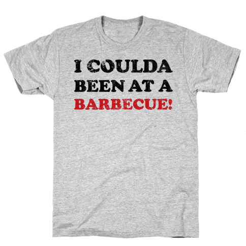 BBQ Independence Day (Vintage) Mens T-Shirt