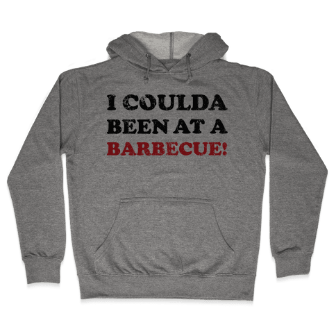 BBQ Independence Day (Vintage) Hooded Sweatshirt