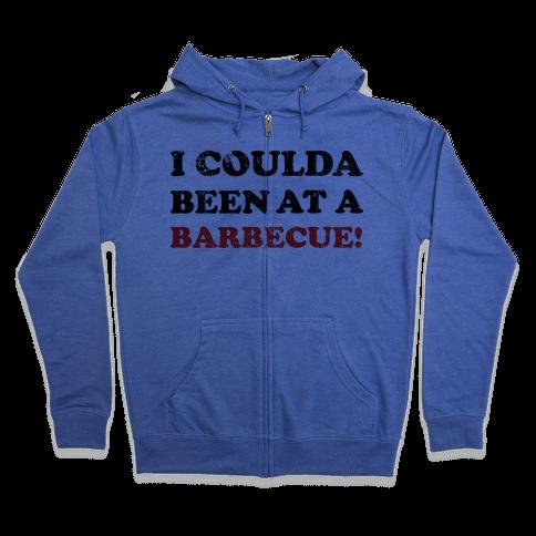 BBQ Independence Day (Vintage) Zip Hoodie