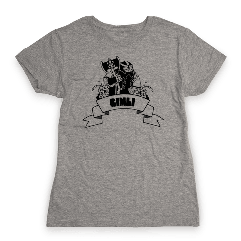 Gimli Womens T-Shirt
