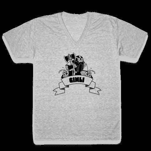 Gimli V-Neck Tee Shirt