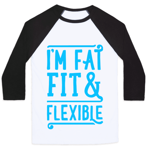 Fat Fit and Flexible Baseball Tee