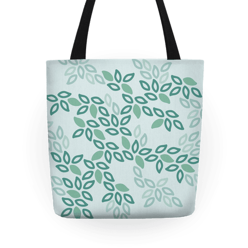 Fun Leaf Pattern Tote Tote