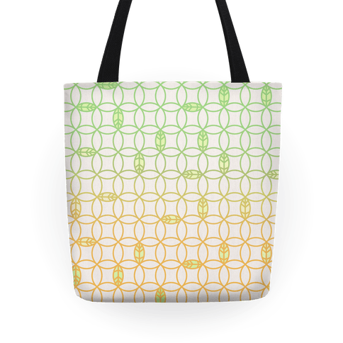 Spring Leaves Tote
