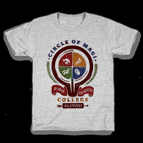 College of Magi Alumni Kids T-Shirt