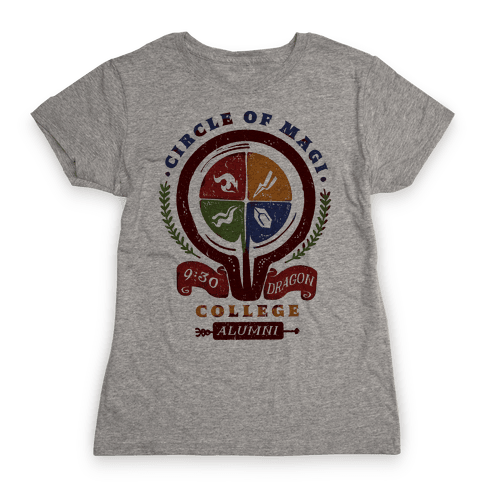 College of Magi Alumni Womens T-Shirt