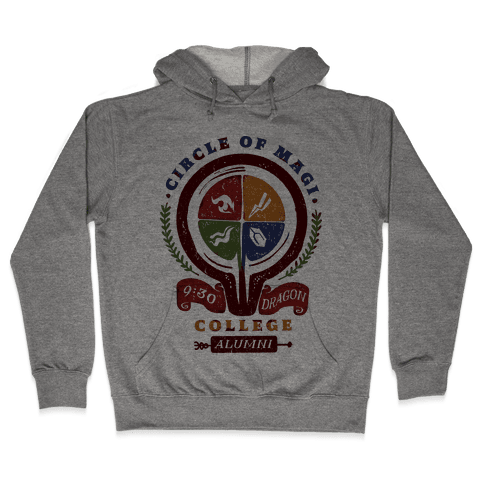 College of Magi Alumni Hooded Sweatshirt