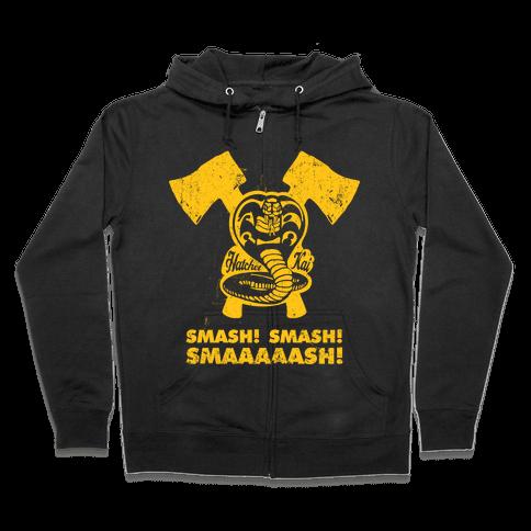 Hatchet Kai (Hitchhiker Shirt) Zip Hoodie