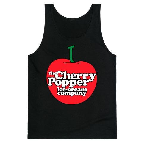 45f97a11589c62 Cherry Popper Ice-Cream Company Shirt Tank Top