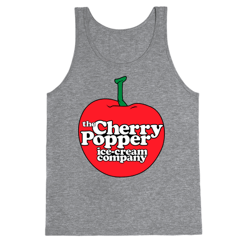 Cherry Popper Ice-Cream Company Shirt Tank Top