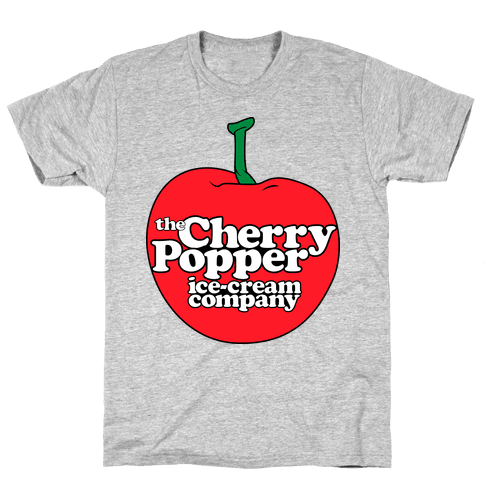 Cherry Popper Ice-Cream Company Shirt Mens T-Shirt