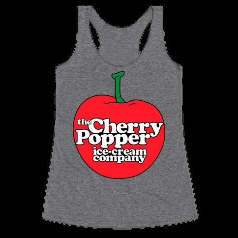 Cherry Popper Ice-Cream Company Shirt Racerback Tank Top