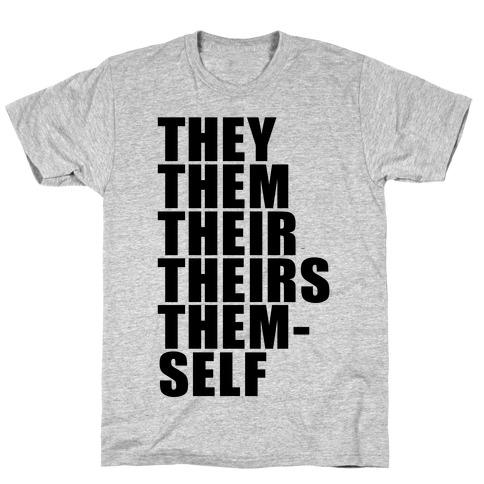 Gender Pronoun Guide T-Shirt