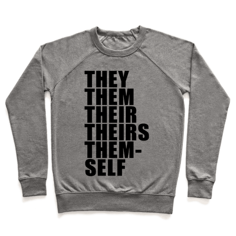 Gender Pronoun Guide Pullover