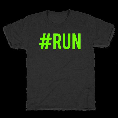 #Run Kids T-Shirt
