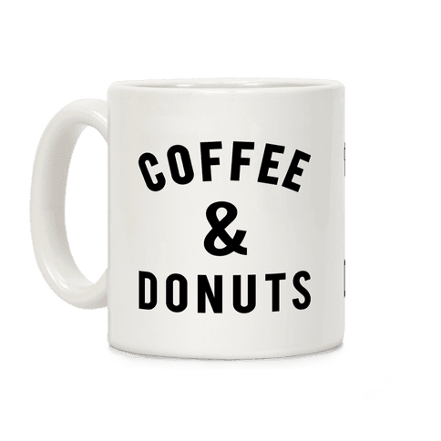 Coffee And Donuts Coffee Mug