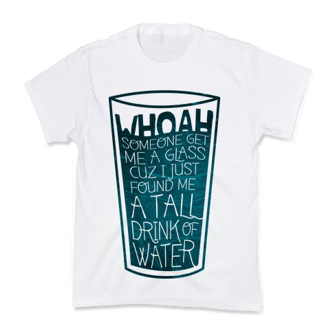 Tall Drink (color) Kids T-Shirt