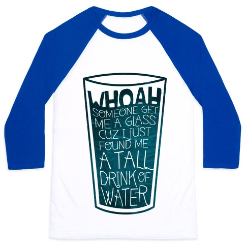 Tall Drink (color) Baseball Tee