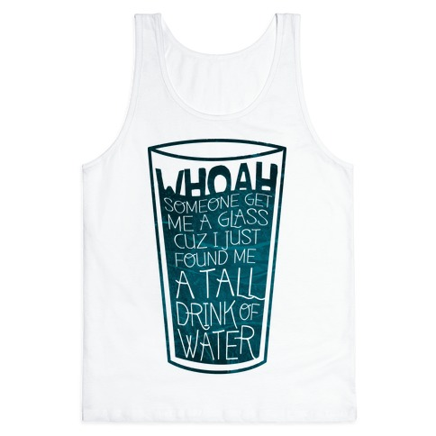 Tall Drink (color) Tank Top