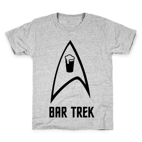 Bar Trek Kids T-Shirt