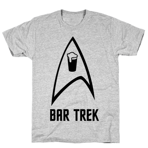 Bar Trek Mens T-Shirt