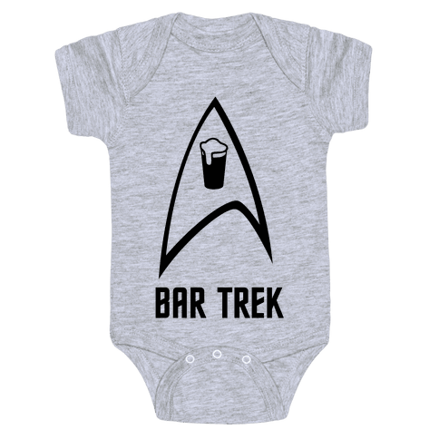 Bar Trek Baby Onesy
