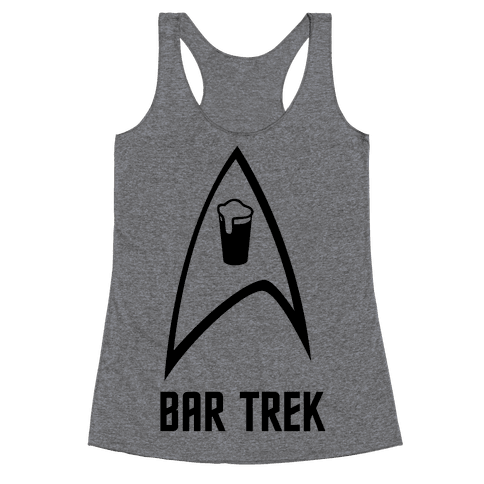 Bar Trek Racerback Tank Top