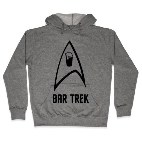 Bar Trek Hooded Sweatshirt