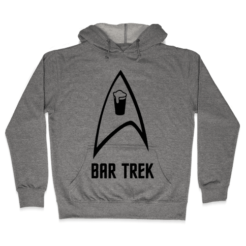 Bar Trek Hooded Sweatshirt