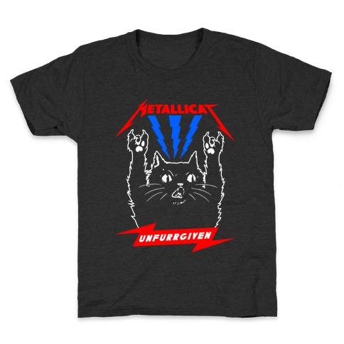 Metallicat Unfurrgiven Darkness Edition Kids T-Shirt